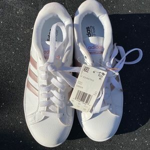 Adidas Rose Gold Ortho Float Cloud Foam Shoes